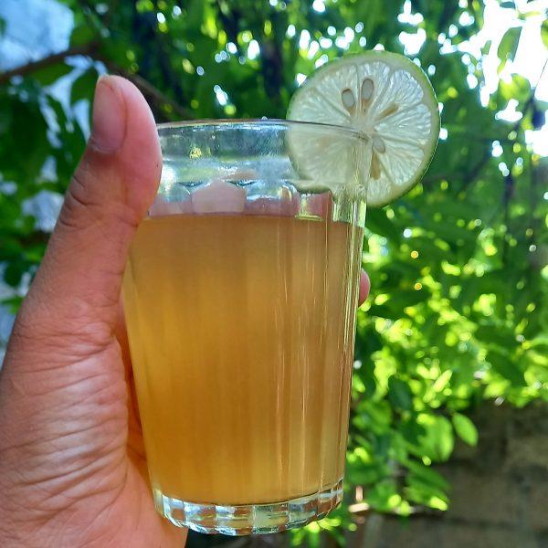 thải độc cơ thể mỗi ngày với mật ong lên men chanh